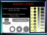 aperture or f stops1