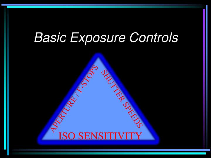 Basic exposure controls