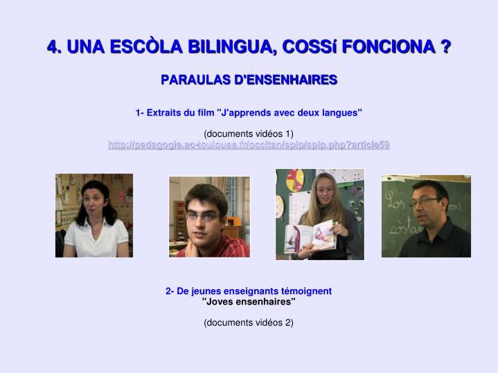 PARAULAS D'ENSENHAIRES