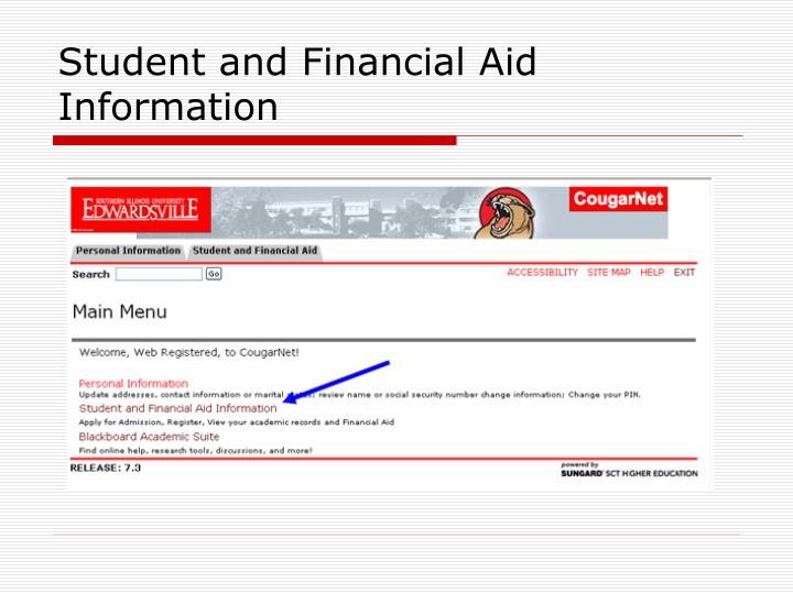 Student and Financial Aid Information