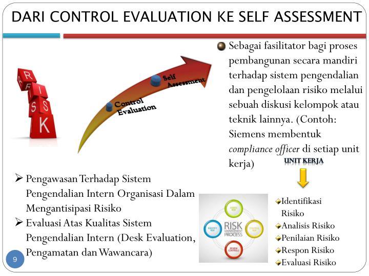 DARI CONTROL EVALUATION KE SELF ASSESSMENT