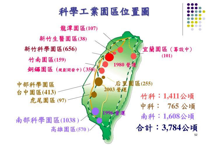 科學工業園區位置圖
