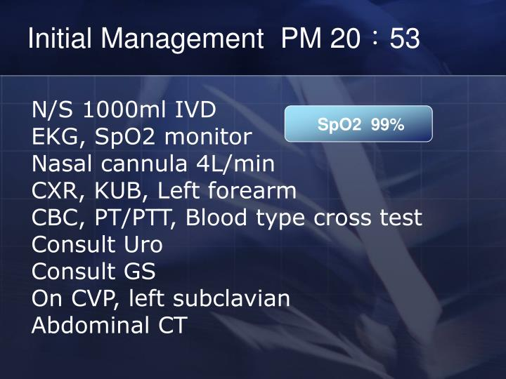 Initial Management  PM 20