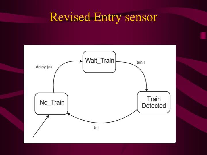 Revised Entry sensor