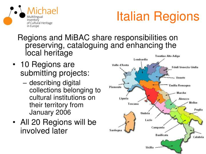 Italian Regions