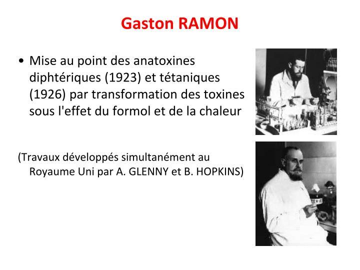 Gaston RAMON