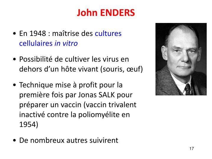 John ENDERS