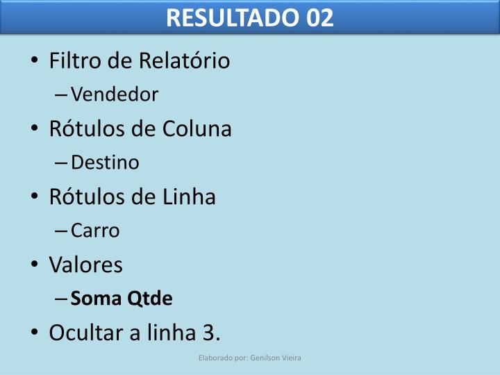 RESULTADO 02