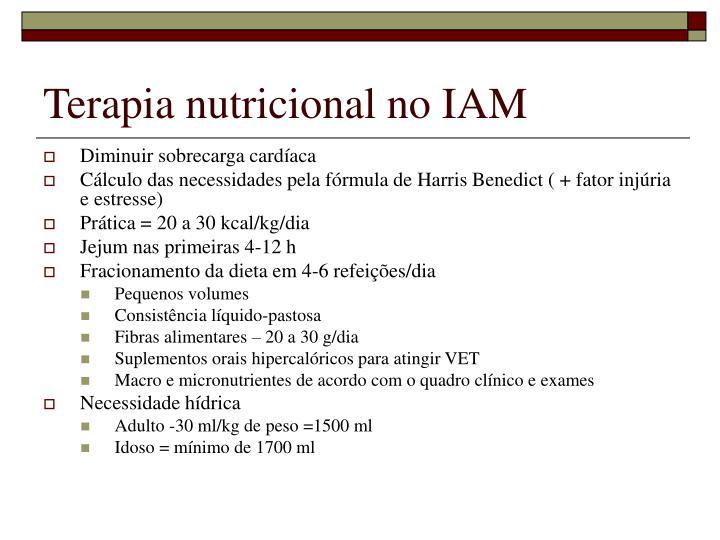 Terapia nutricional no IAM