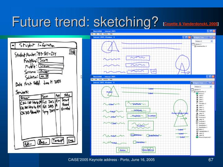 Future trend: sketching?