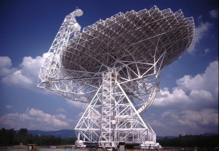 GBT – Green Bank Telescope (