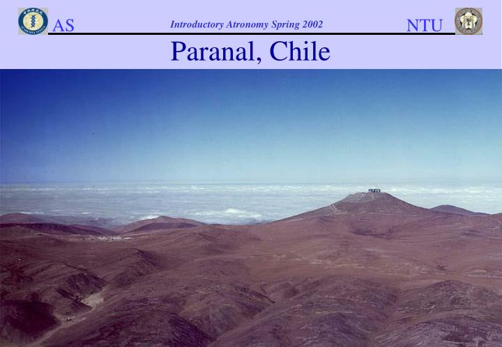 Paranal, Chile