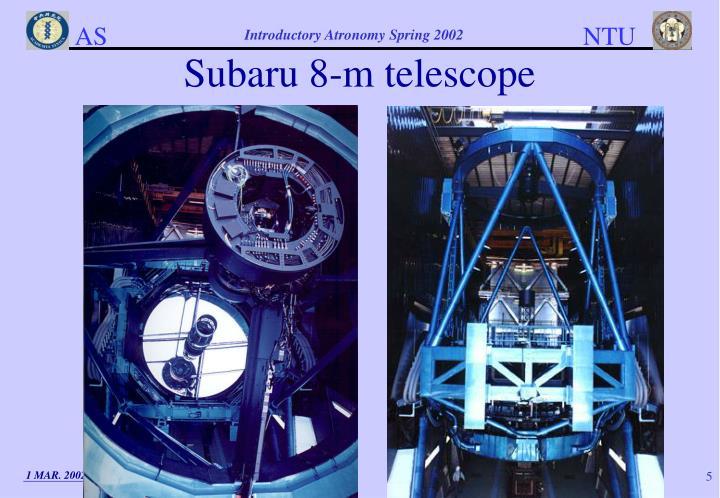 Subaru 8-m telescope