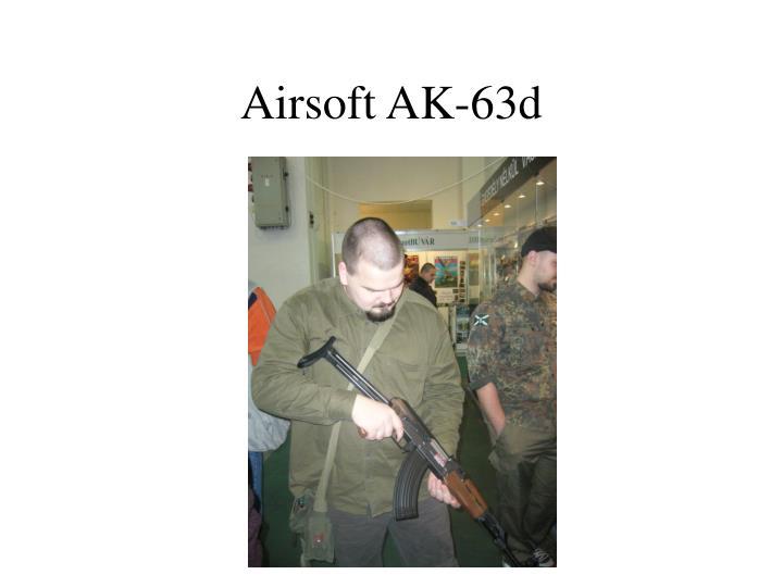 Airsoft AK-63d