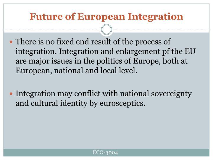 Future of European Integration