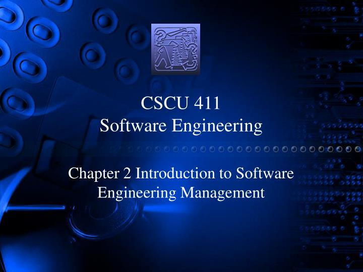 cscu 411 software engineering