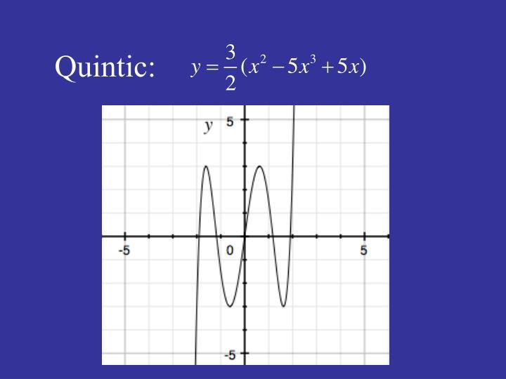 Quintic: