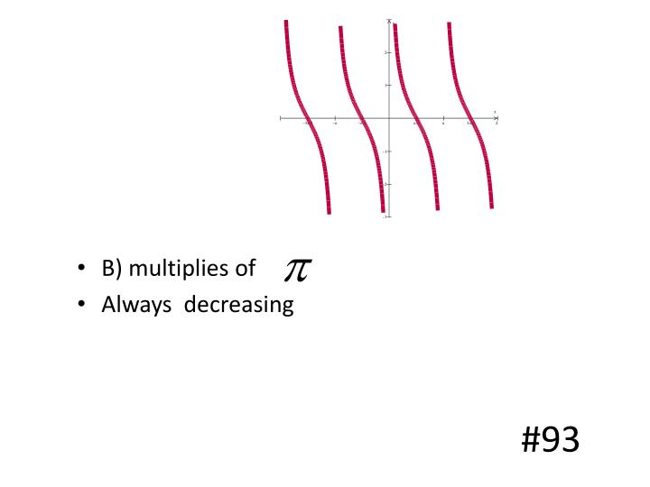 B) multiplies of