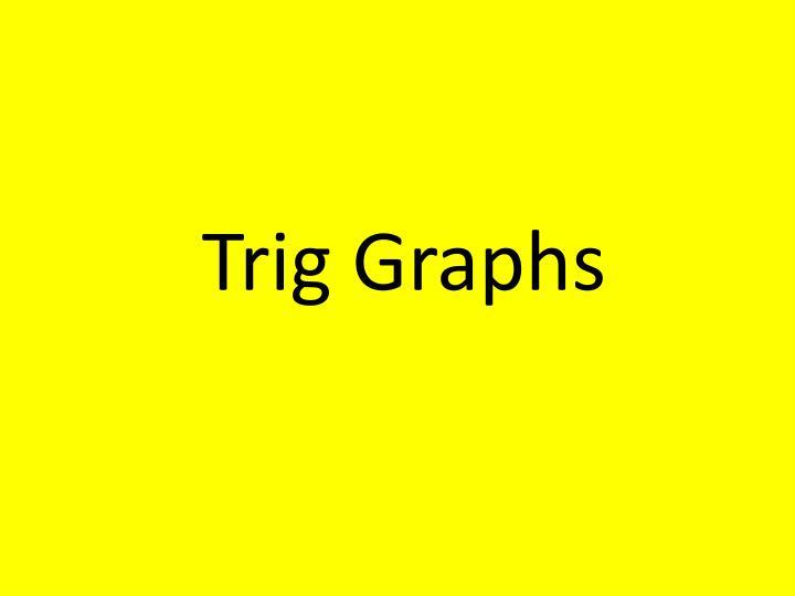 Trig Graphs