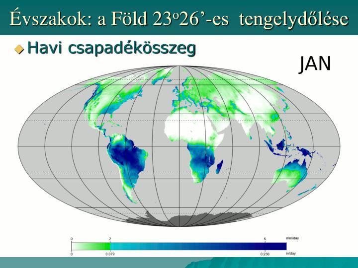 Évszakok: a Föld 23