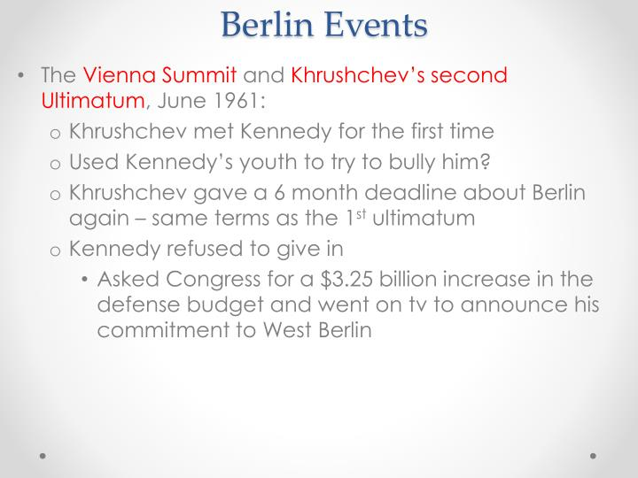 Berlin Events
