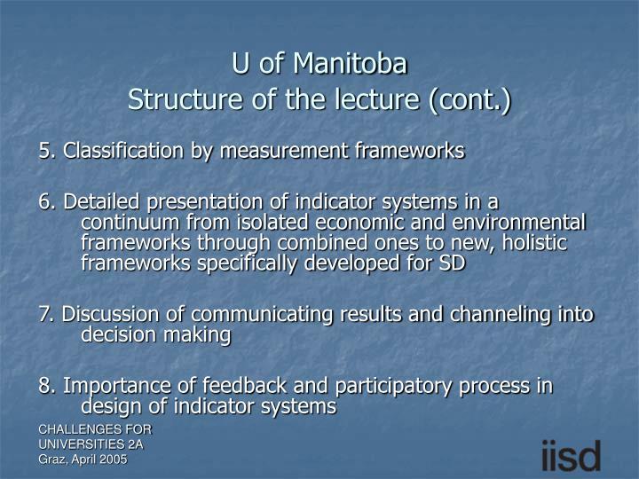 U of Manitoba