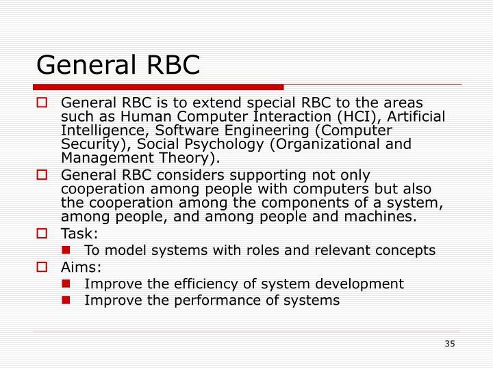 General RBC