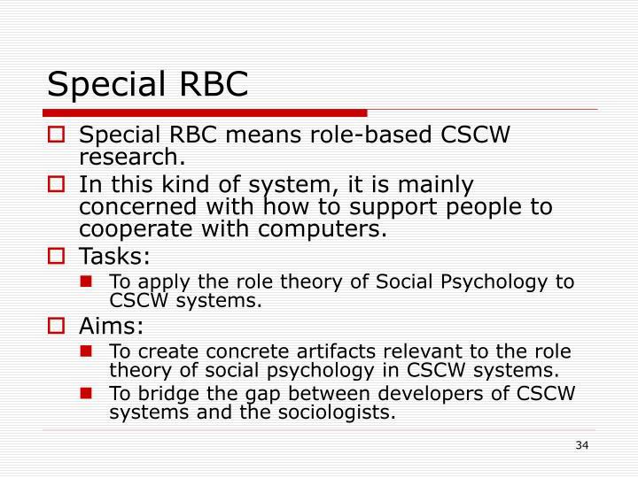 Special RBC