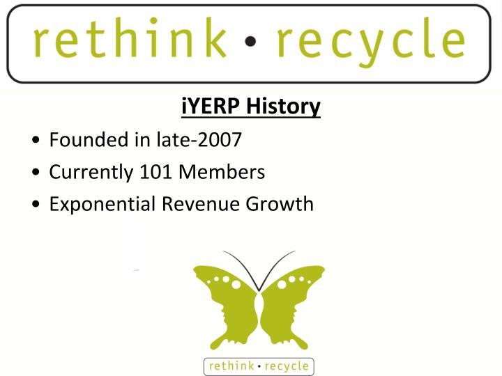 iYERP History