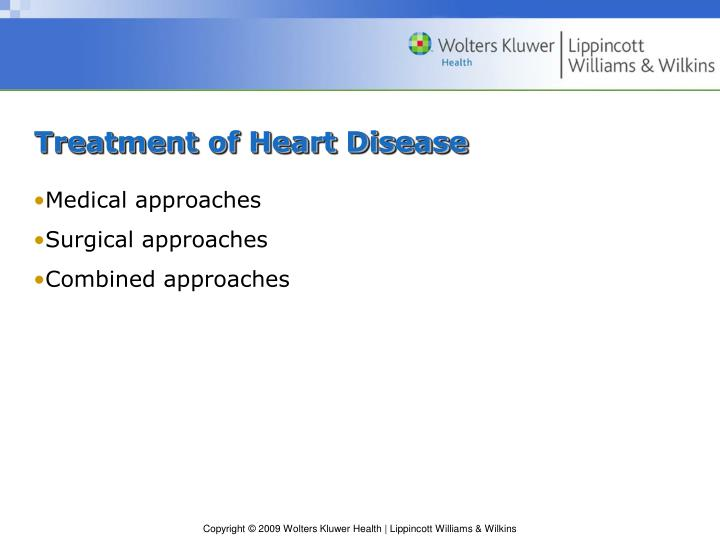 Treatment of Heart Disease