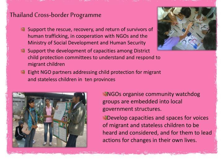 Thailand Cross-border Programme