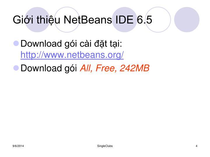 Giới thiệu NetBeans IDE 6.5