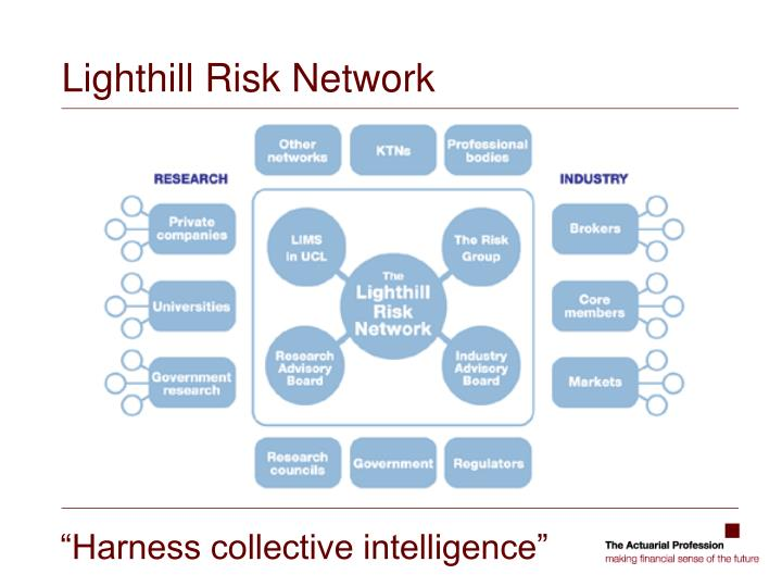 Lighthill Risk Network