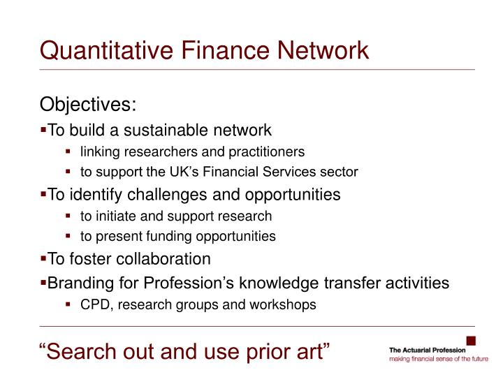 Quantitative Finance Network