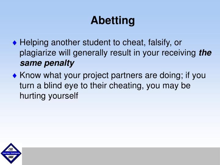 Abetting