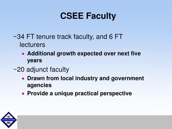 CSEE Faculty