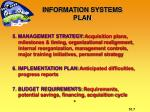 information systems plan2