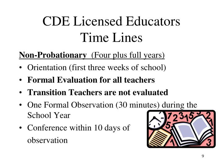 CDE Licensed Educators