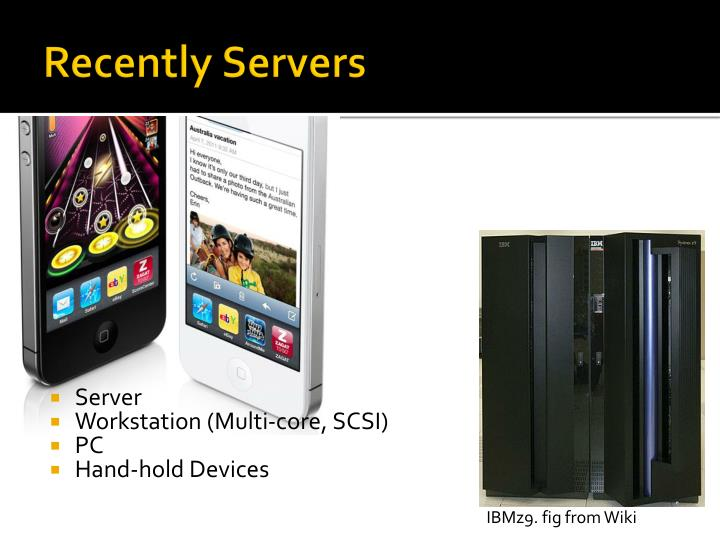 Recently Servers