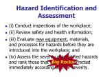 hazard identification and assessment1