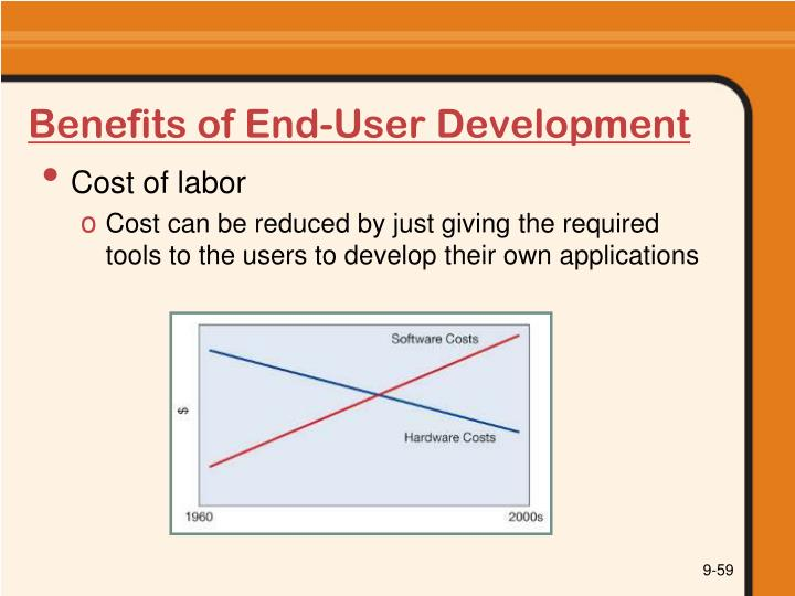 Benefits of End-User Development