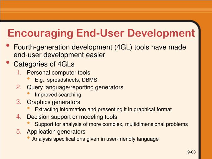 Encouraging End-User Development