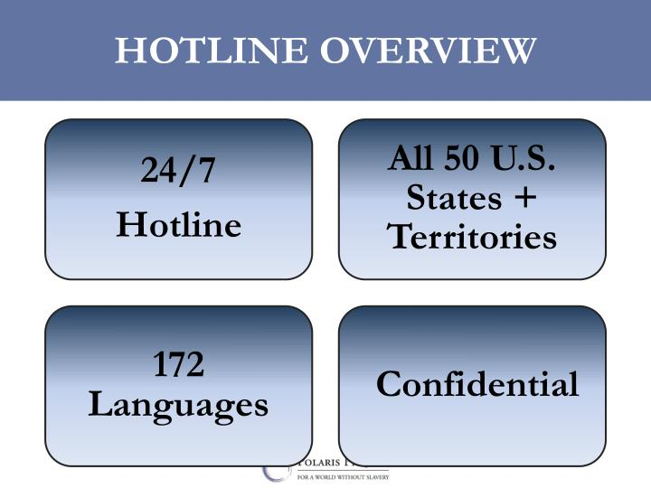 HOTLINE OVERVIEW