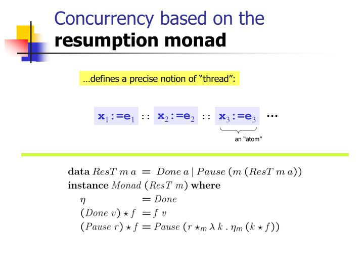 Concurrency based on the