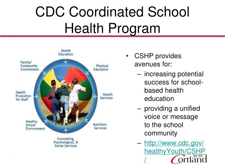 Cdc coordinated school health program