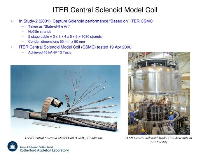 ITER Central Solenoid Model Coil