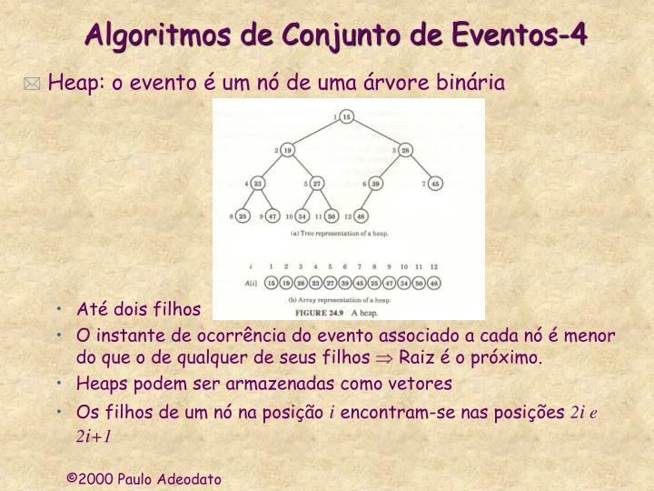 Algoritmos de Conjunto de Eventos-4