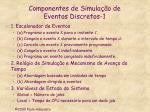 componentes de simula o de eventos discretos 1
