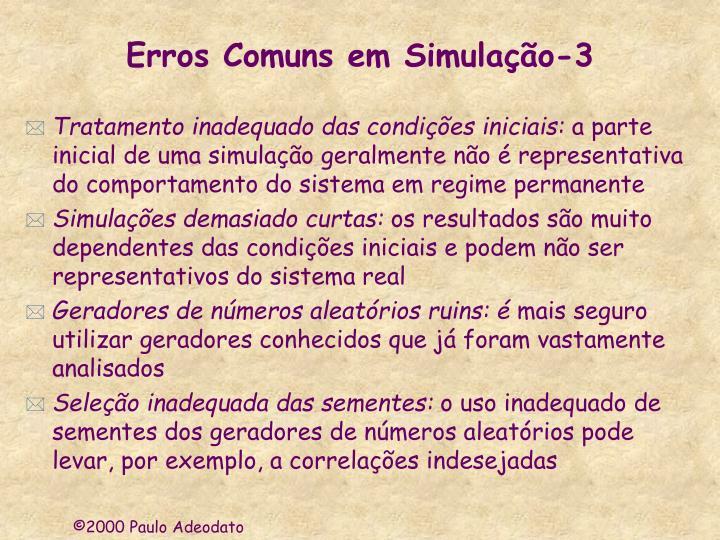 Erros Comuns em Simulação-3