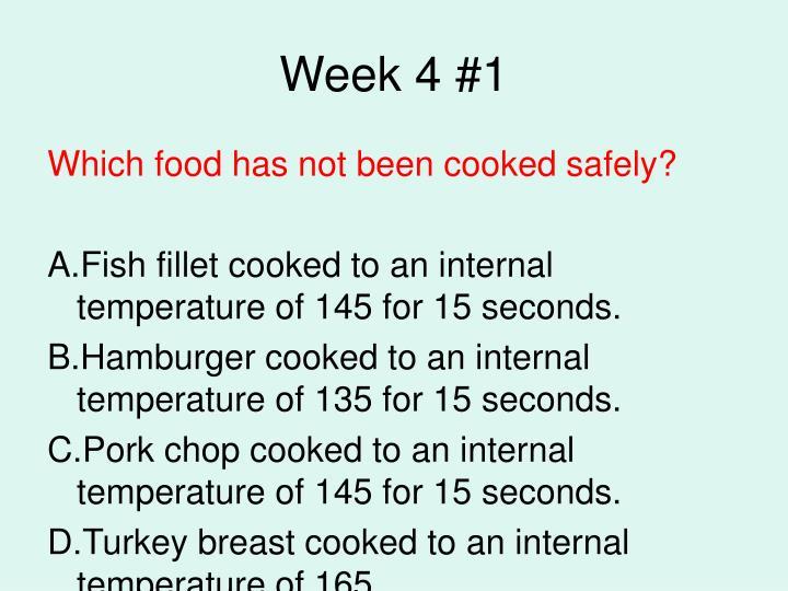 Week 4 #1